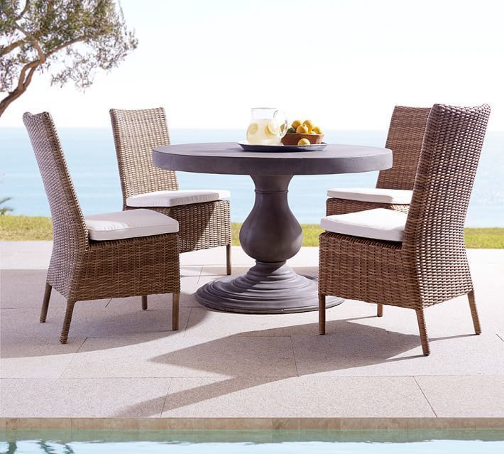 Pottery Barn Patio Table And Chairs Patio Ideas
