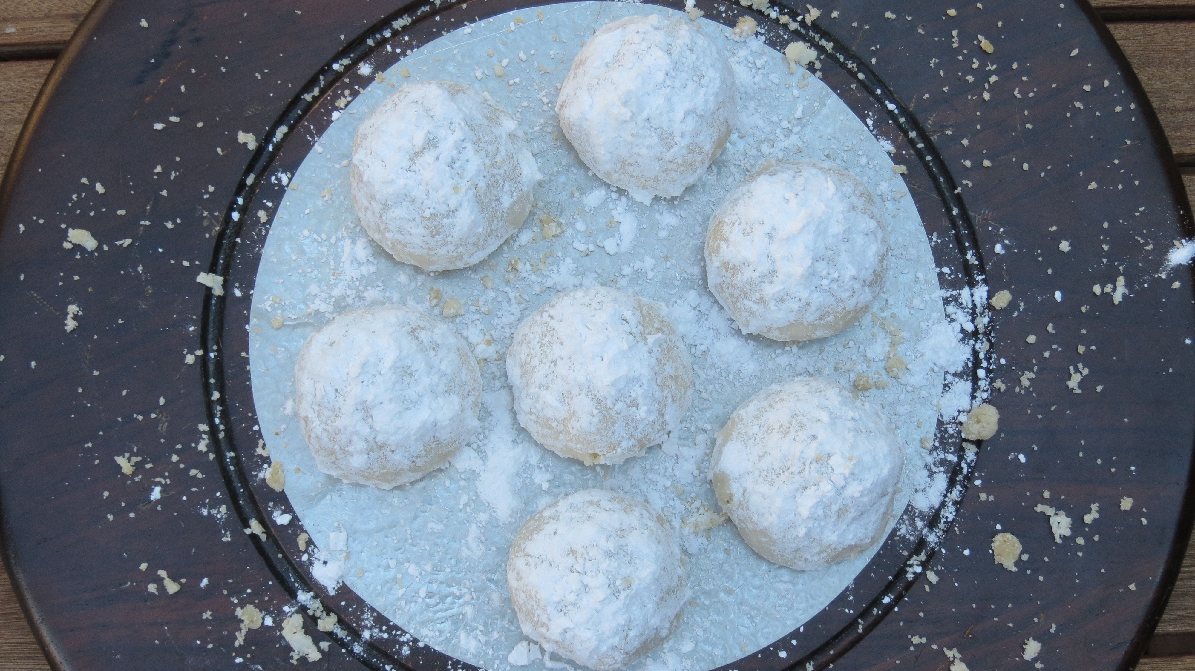 Snowball cookies are also known as Mexican wedding cakes