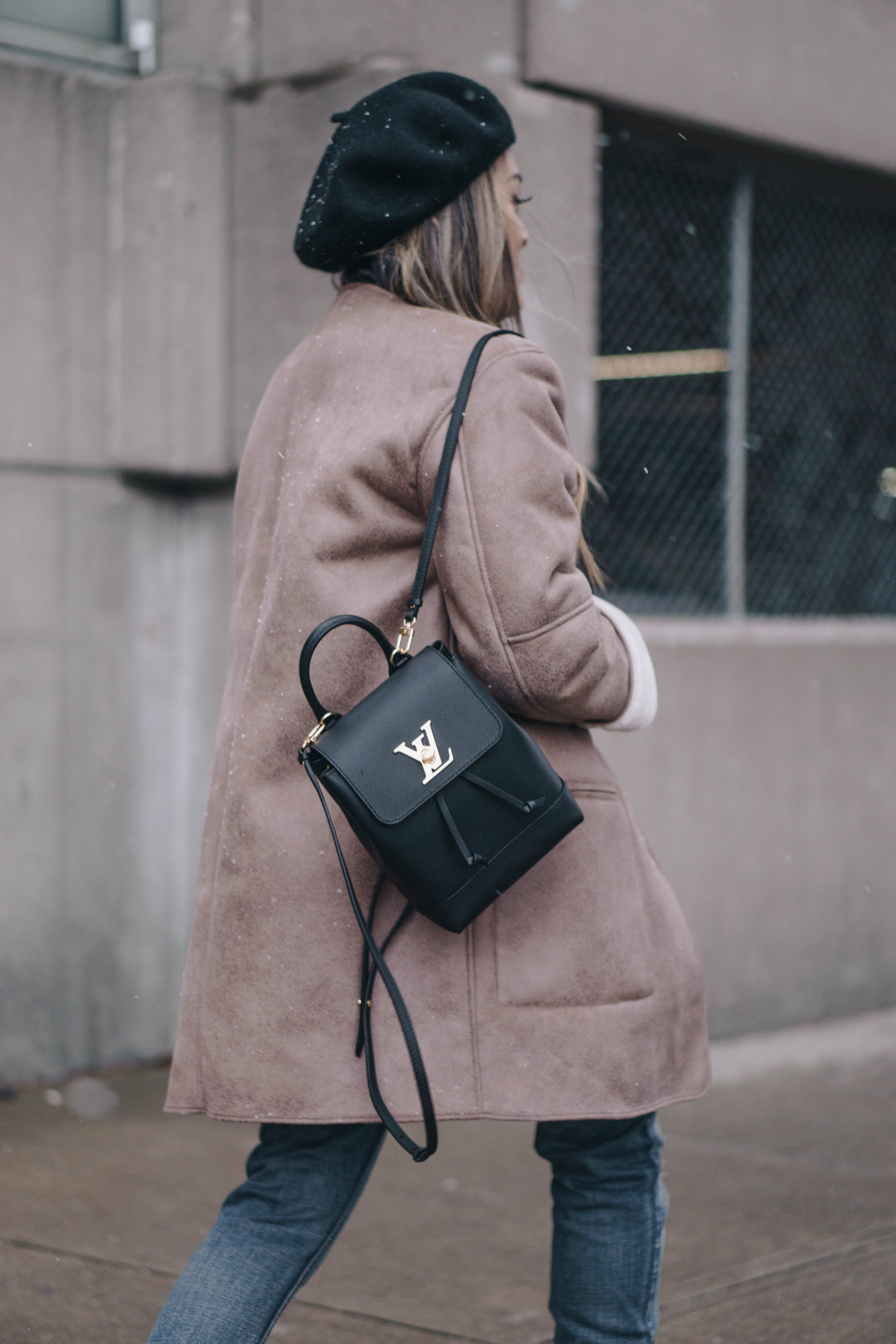 8411051c535 Louis Vuitton Mini Lockme Backpack Review | clothes in 2019 ...