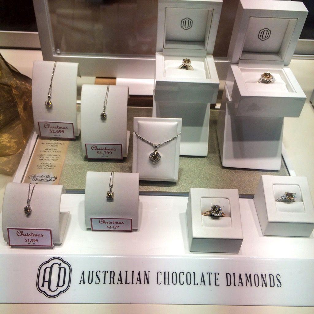 Anyone have a #chocolate craving? Check out our #ChocolateDiamonds in store today ❤   #Jewellery #Diamond #Style #Australian #Argyle #stunningdiamond #jewellerydesign