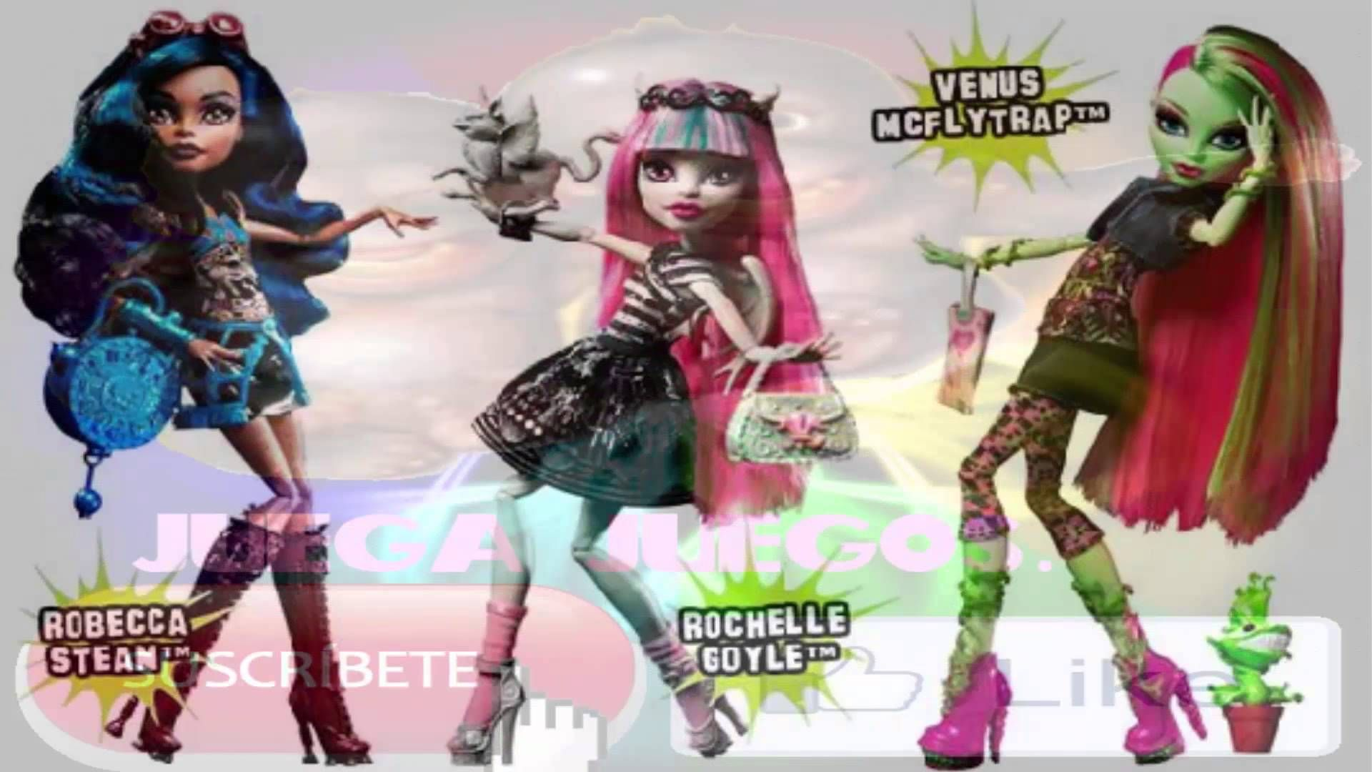Monsters high personajes