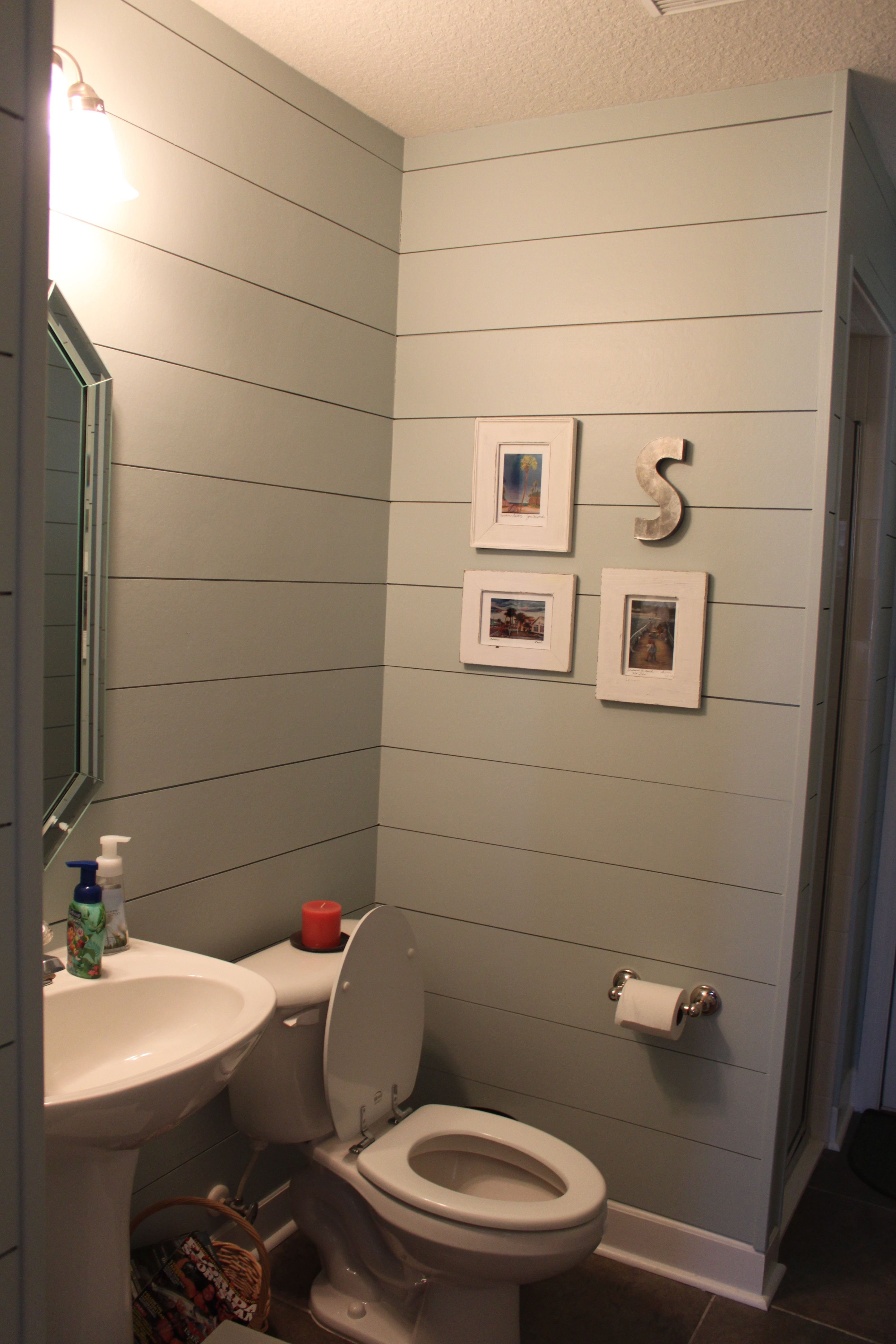Smooth Hardiplank To Look Like Shiplap Bathrooms In 2019