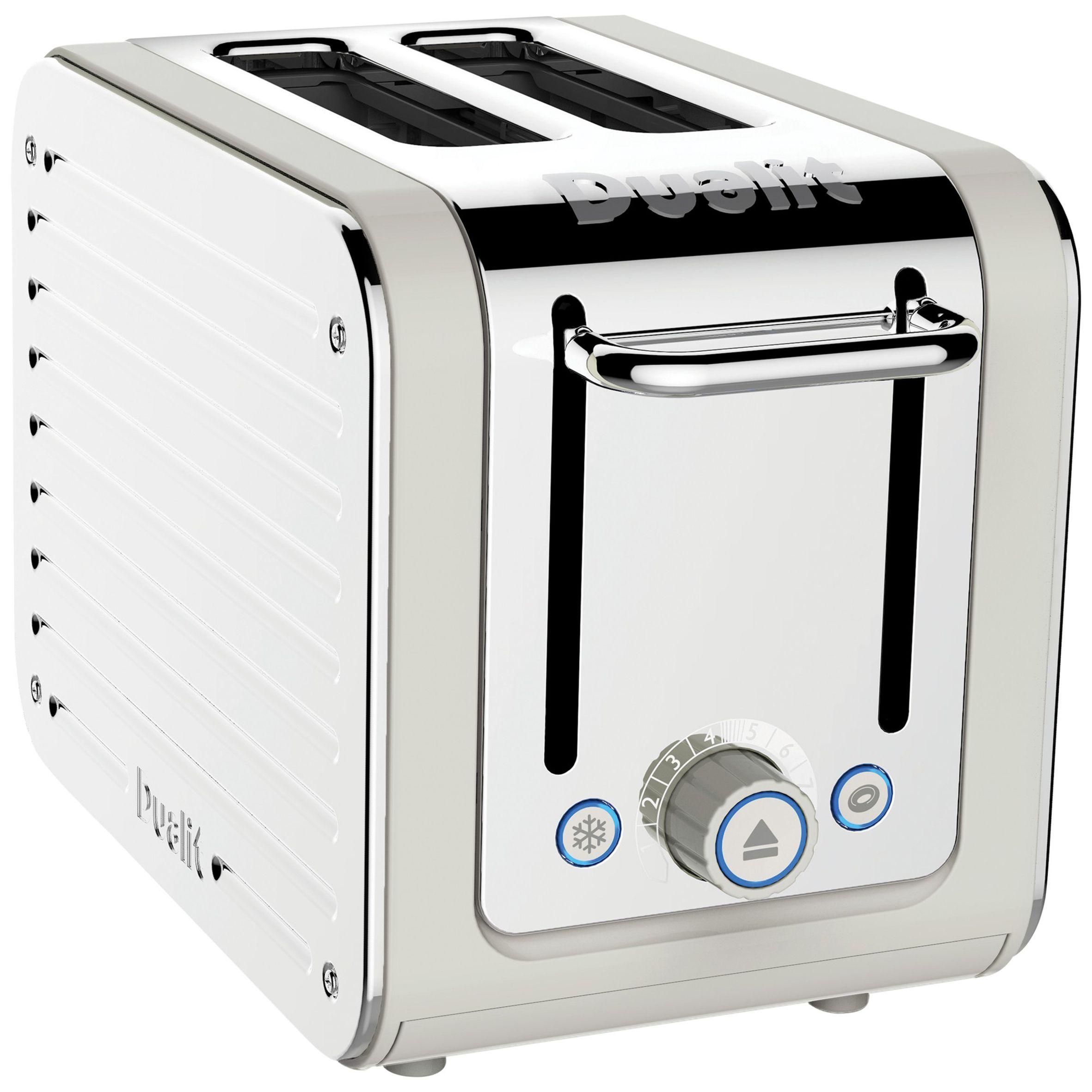 Two slice white Dualit toaster. #Dualit #Toaster #Modern   Pretty ...