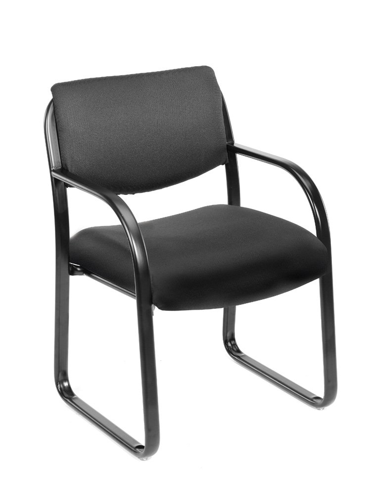 Black Guest Office Chair