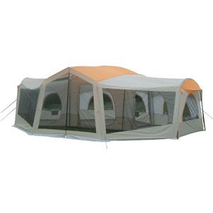 Walmart Ozark Trail 10 Person 3 Room Family Cabin Tent With Screened Porch Family Tent Camping Cabin Tent Tent