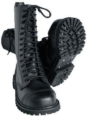 (ref. boots 008) BOTAS KNIGHTSBRIDGE LONDON - 14 AGUJEROS Negras. Pedidos   www.barrio-obrero.com 581c451ada83c