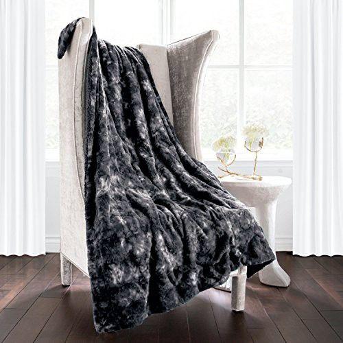 Italian Luxury Super Soft Faux Fur Throw Blanket Elegant Cozy Extraordinary Italian Throw Blanket