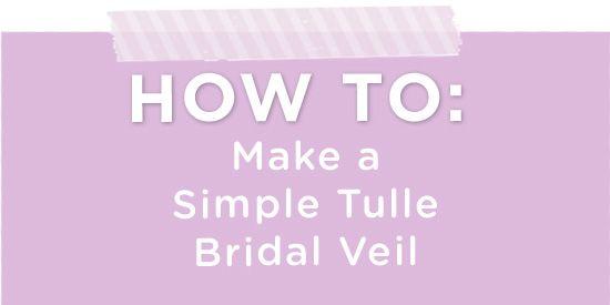How To Make A Bridal Veil Practical Wedding Ideas For Unique DIY