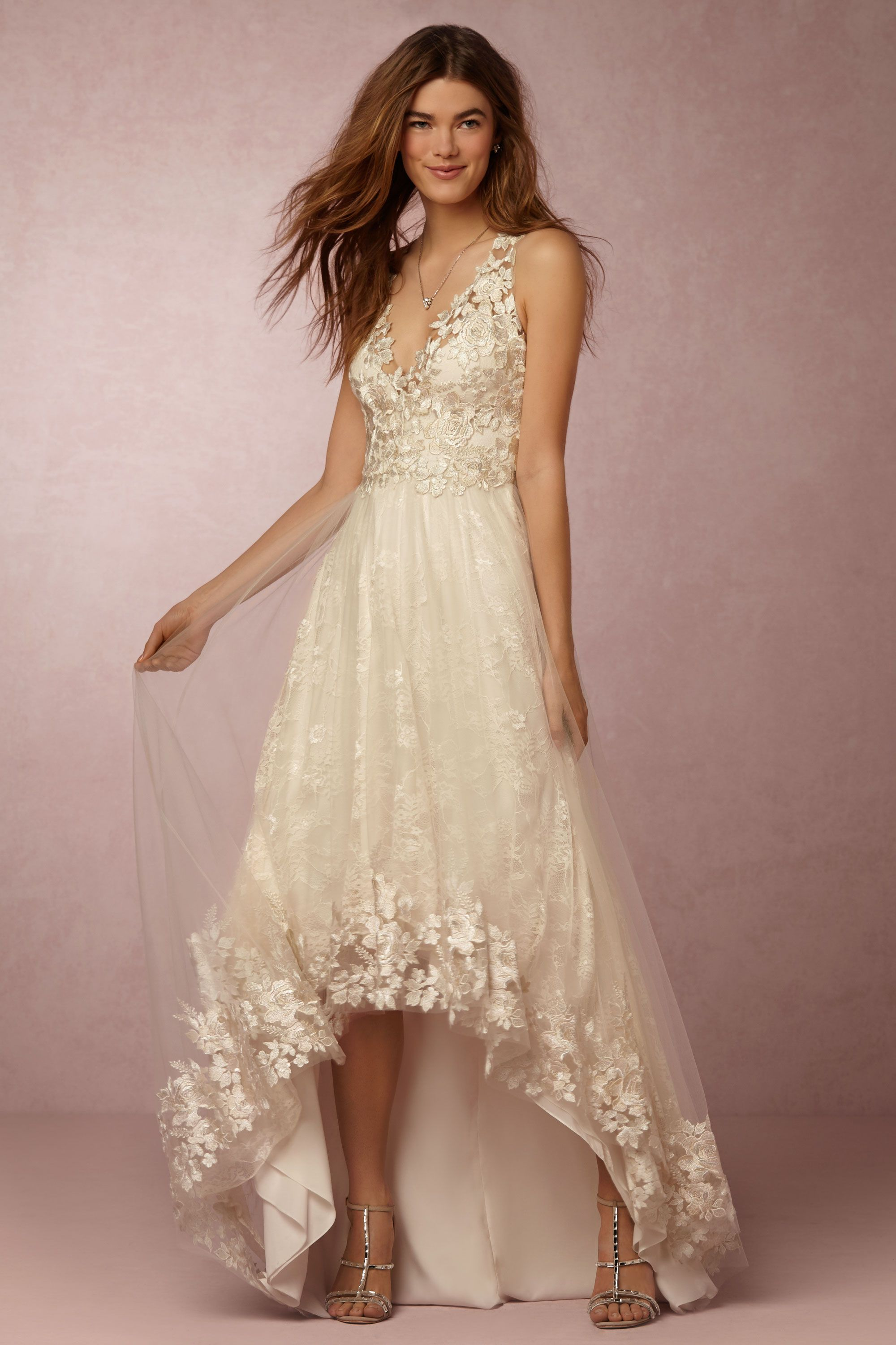 Opal Gown from @BHLDNsold at Anthropologie | unique wedding dress ...