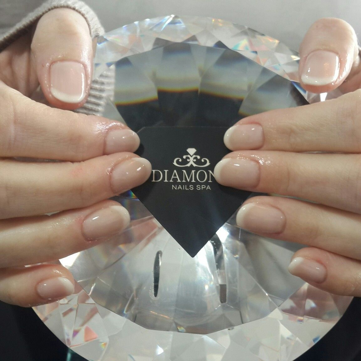 DiamondNailsSpa #esmaltaçãoemgel #francesinha | 8. Double Team + ...