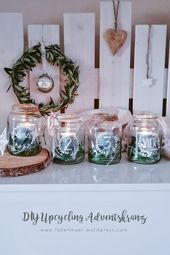 Photo of DIY upcycling advent wreath