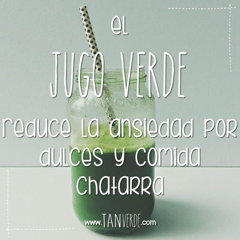 Todo sobre jugo verde www.tanverde.com/jugoverde.php