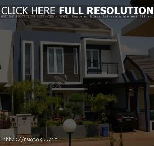 desain rumah minimalis 2 lantai 014