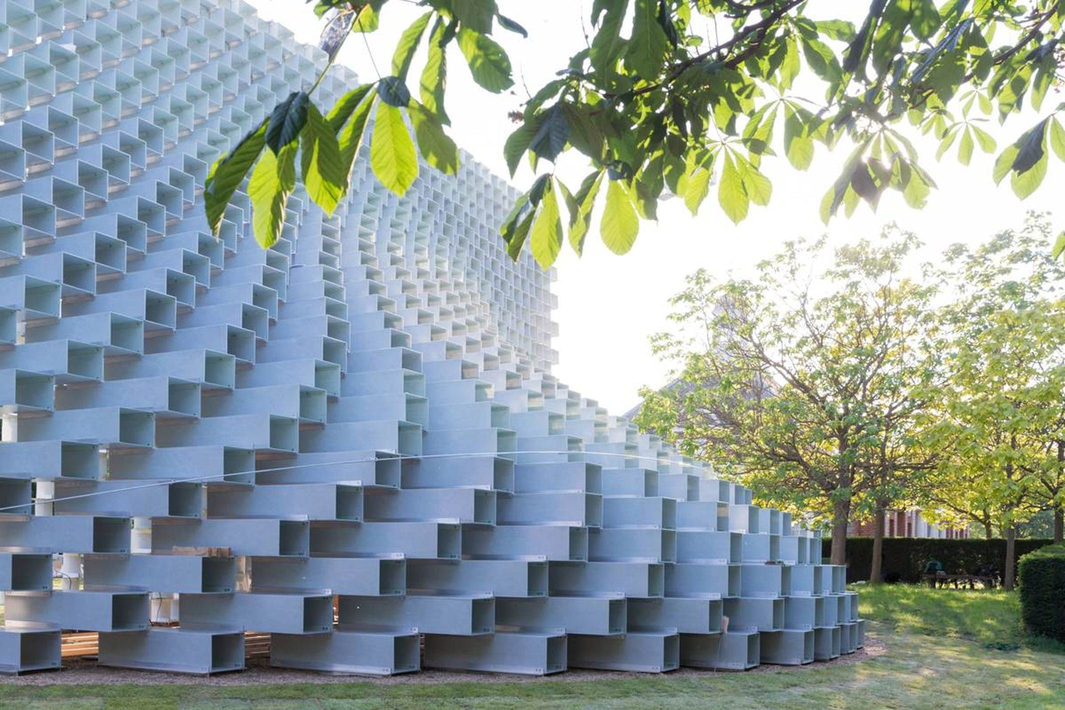 Big S 2016 Serpentine Pavilion And The New Summer Houses Make Their Public Debut In 2020 Pavilion Architecture Serpentine Pavillion Architecture