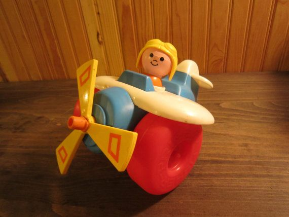 Fisher-Price Pull-Along Plane (#171)   If I had a secret underground ...