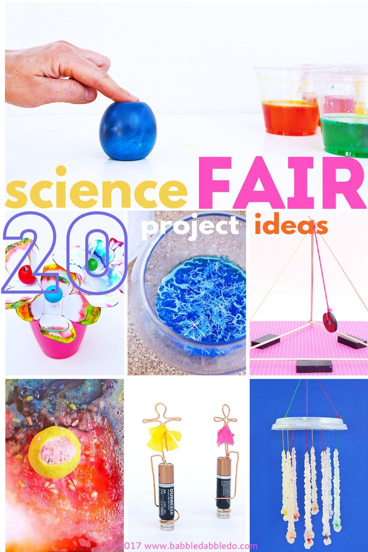 20+ science fair projects that will wow the crowd | babble dabble do