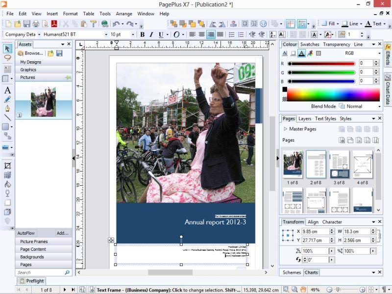 Serif PagePlus X7 review Serif, Desktop publishing