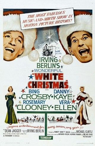 white christmas movie poster white christmas is a 1954 american musical film directed by michael curtiz and starring bing crosby danny kaye vera ellen - White Christmas The Movie