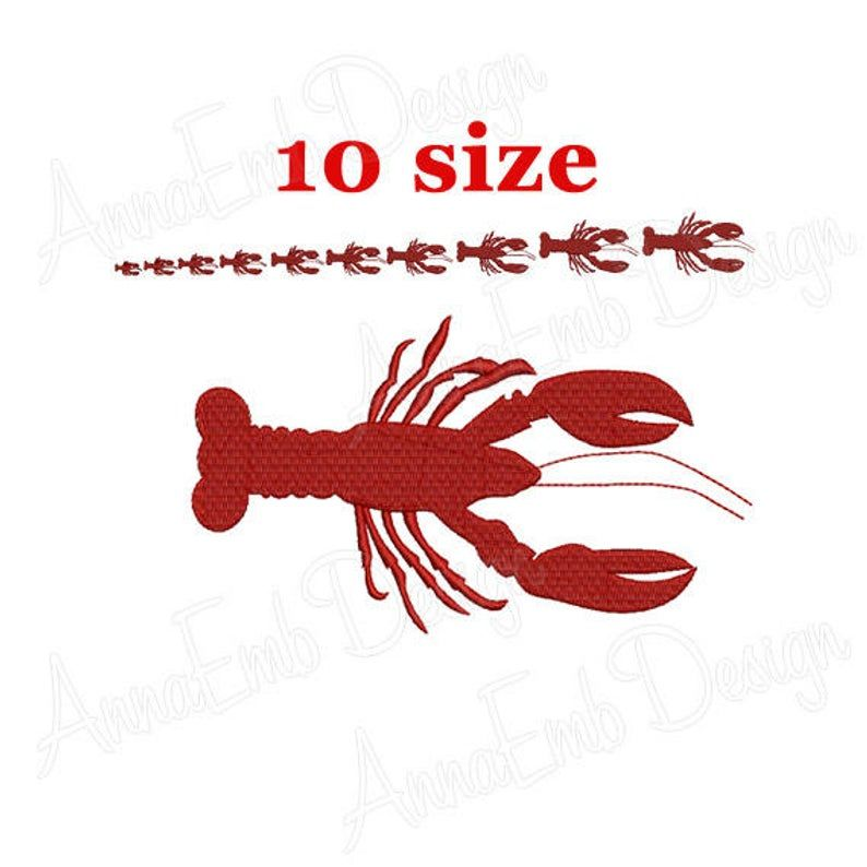 Lobster Decal 2301 Crayfish Decal