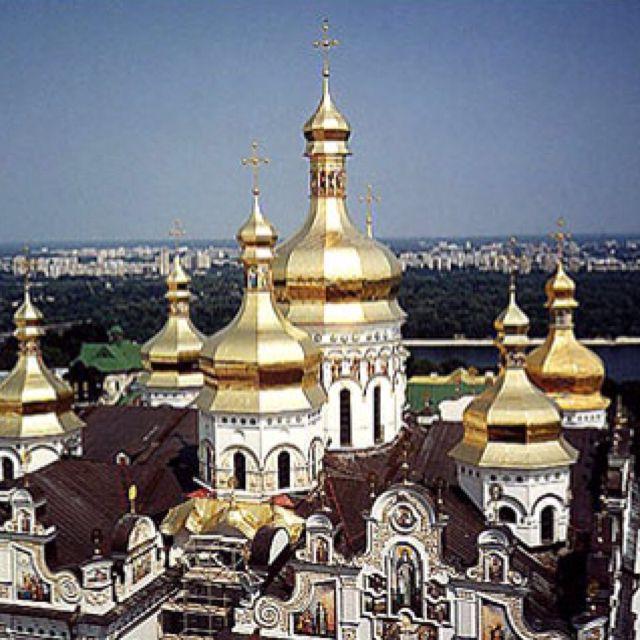 Churches, Kiev, Ukraine.