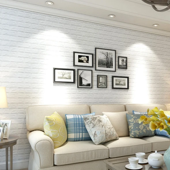 3d Wall Panels Peel And Stick Wallpaper 30 3inch X 30 3inch Wall Stickers Living Room 3d Wall Panels Brick Wall Paneling