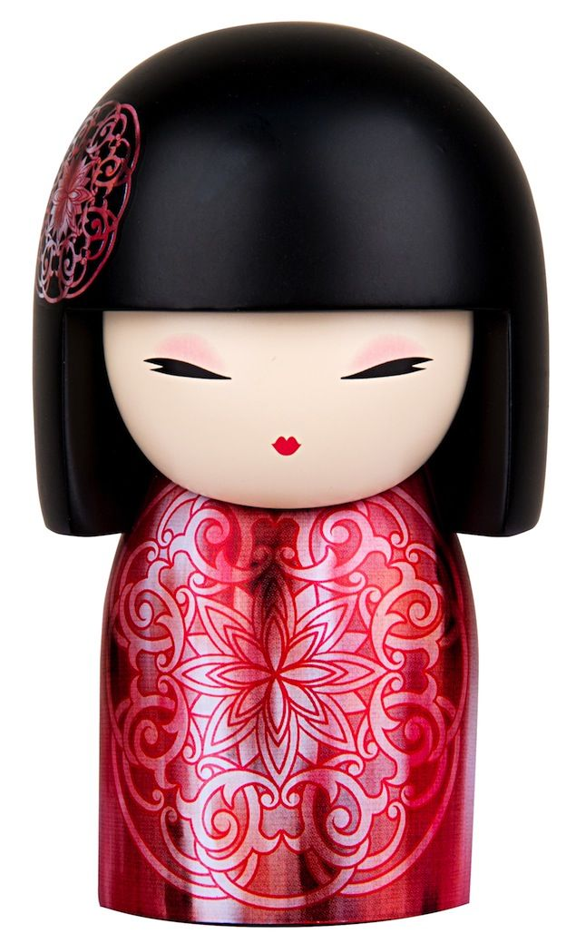 "Kimmidoll™ Yoka - 'Energetic' - ""My spirit is dynamic and enthusiastic. Your ability to energise others, to inspire action and to bring enthusiasm to whatever you set out to do, reveals the power of my spirit. May the energy you bring to every endeavour, be an inspiration to the world, now and forever."""