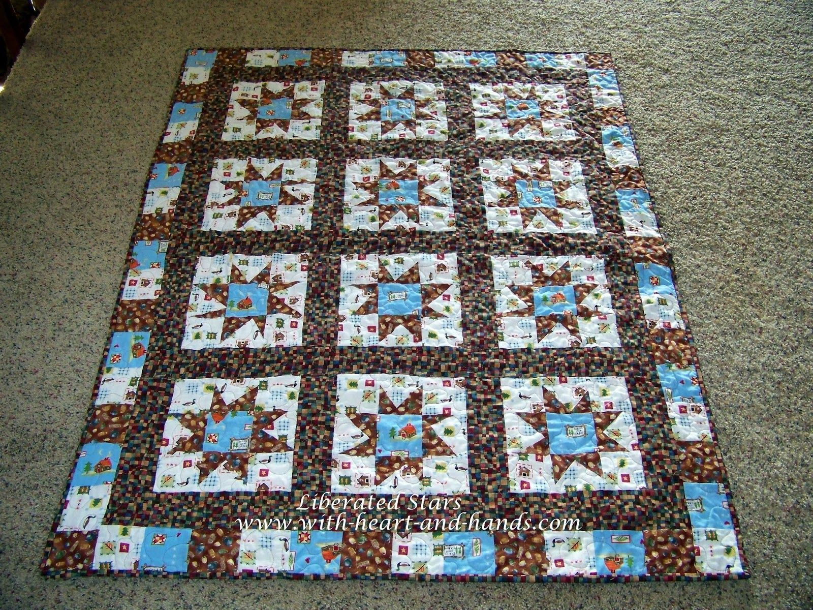Michele Bilyeu shares her quilting and crafting journey from Alaska to Oregon with thousands of free patterns and tutorials.