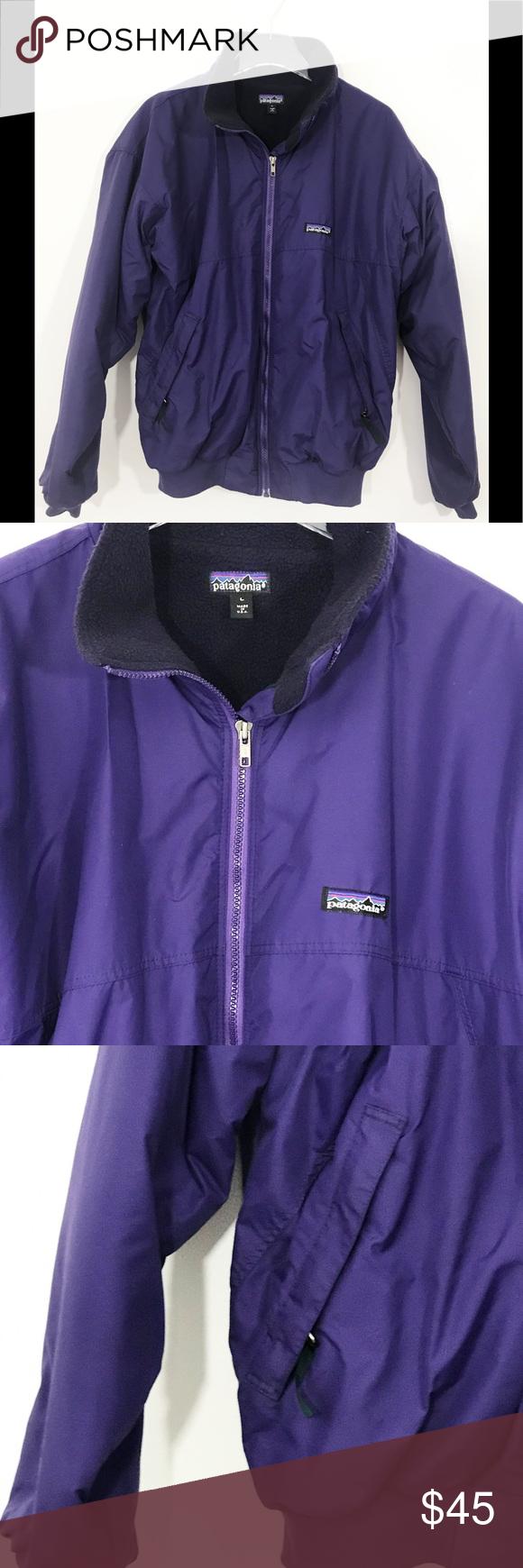 Vintage Patagonia Men S Bomber Fleece Lined Jacket Line Jackets Preppy Wardrobe Essentials Jackets [ 1740 x 580 Pixel ]