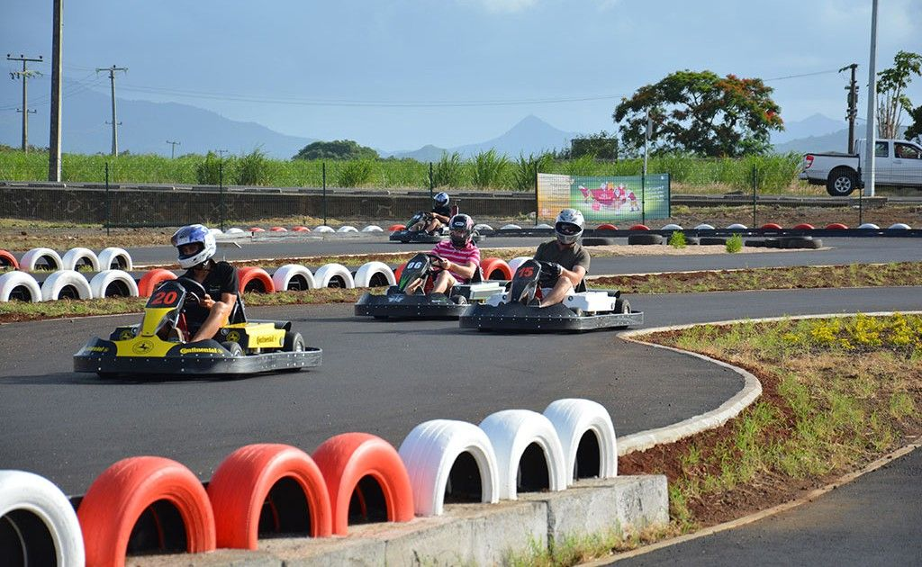 Karting at Cascavelle Shopping Village