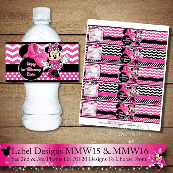 ANY SET of TWO Pink Polka Dot or Zebra by ThePrintableOccasion