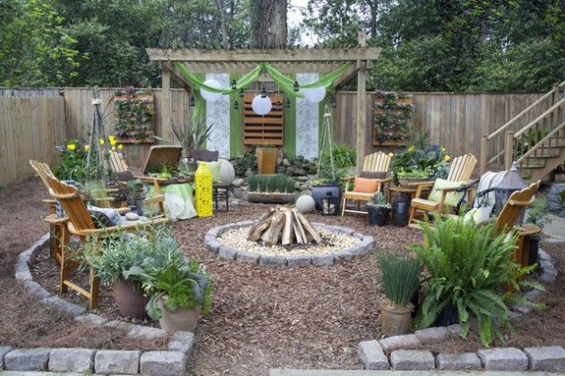 17 Wonderful Rustic Landscape Ideas To Turn Your Backyard Into