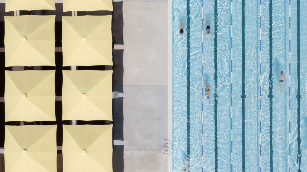 These Photos Of Pools From Above Are Making A Real Splash Swimming Pools Birds Eye Birds Eye View