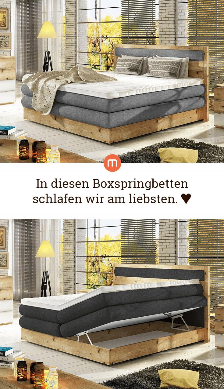 Entdecke Traumhafte Boxspringbetten Bei Moebel.de
