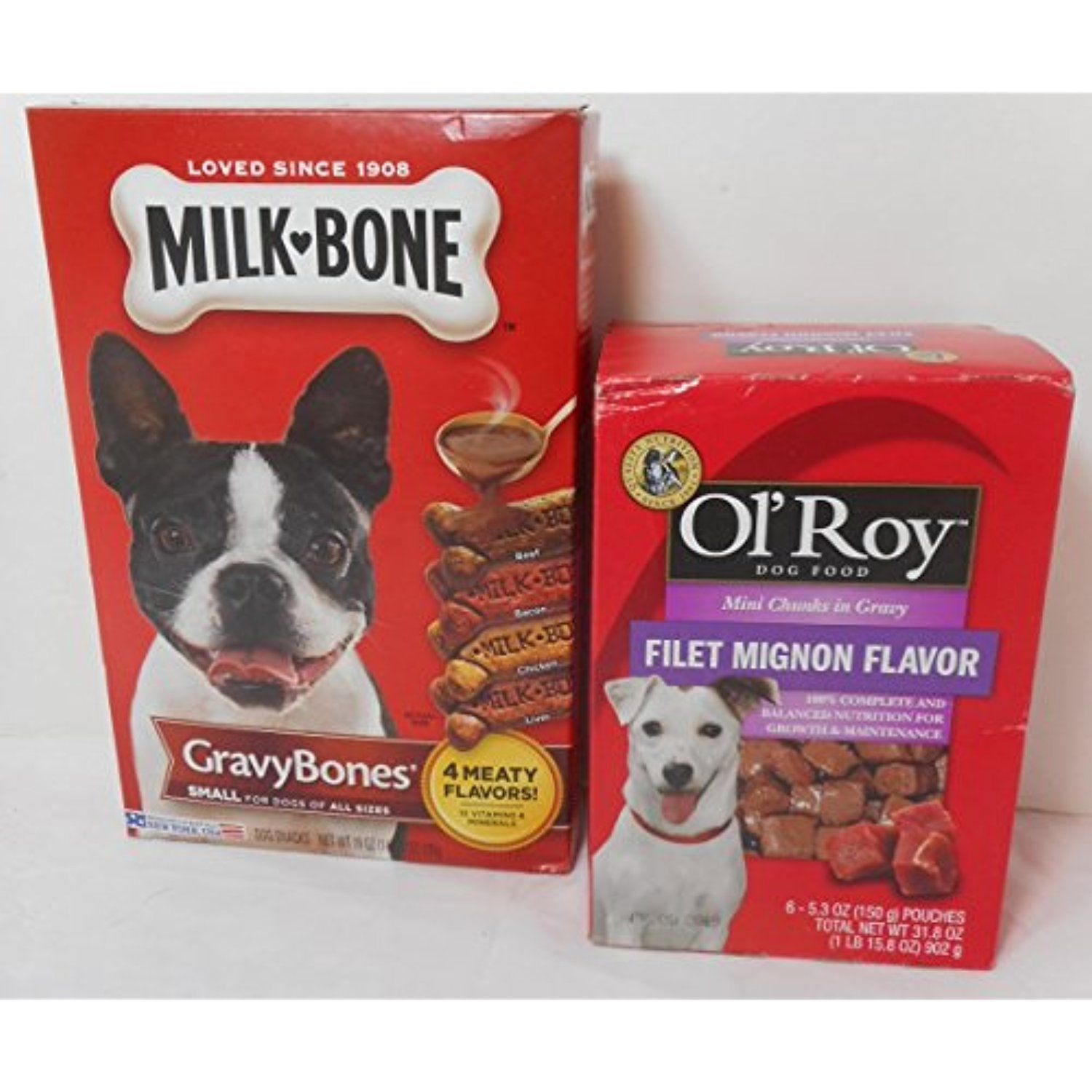 19 Oz Milk Bone Small Gravy Bones Dog Snacks 31 8 Oz 6 5 3 Oz