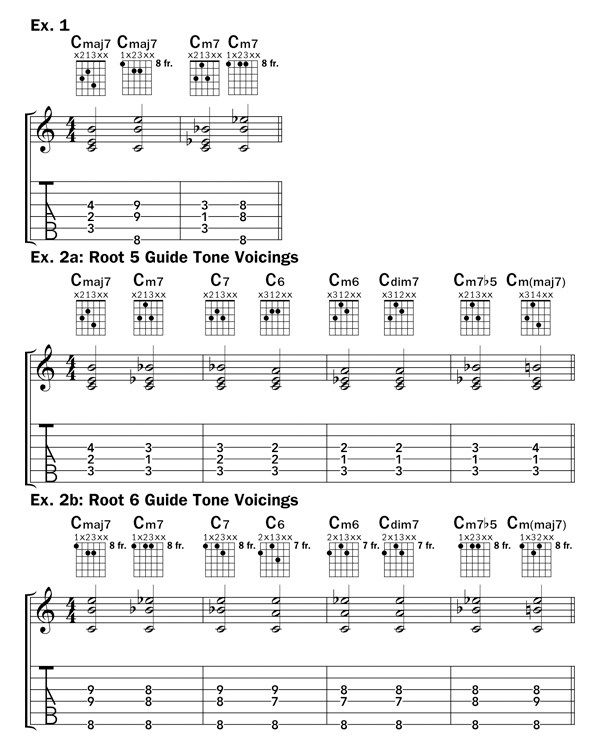 Guide Tone Voicings