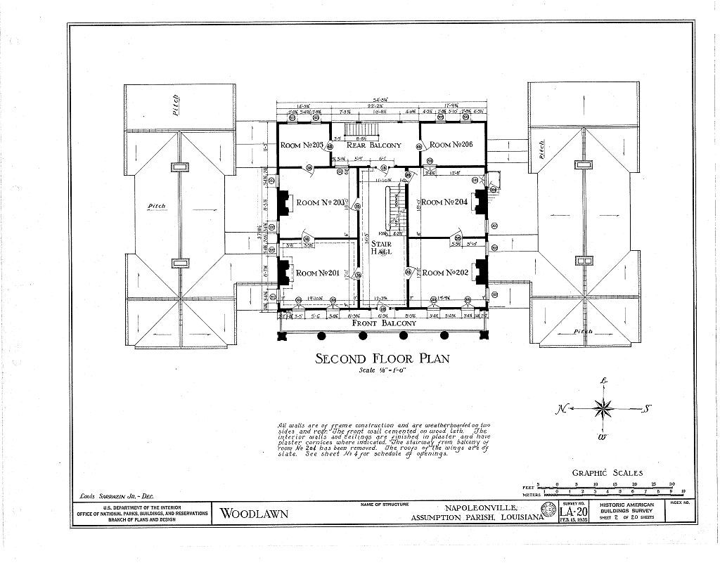 Woodlawn plantation napoleonville louisiana more for Plantation floor plan
