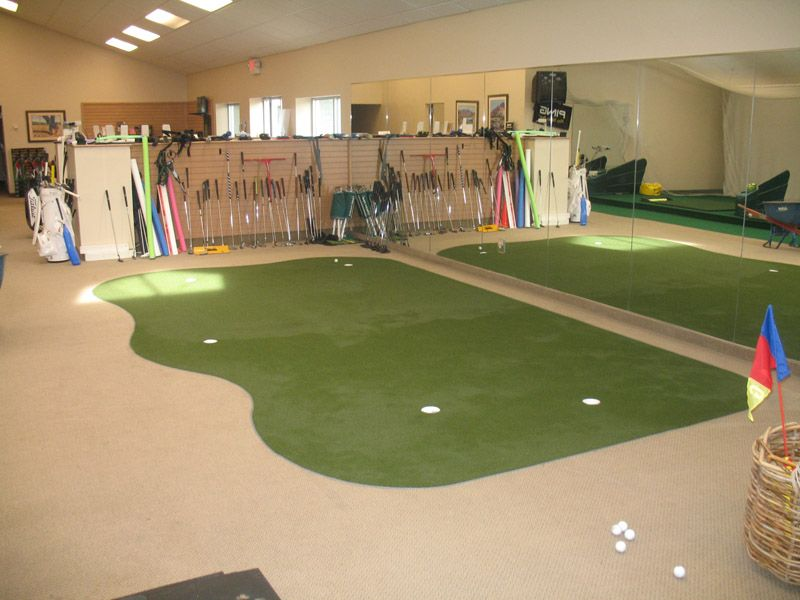 Custom commercial indoor putting green by Southwest Greens Tucson ...