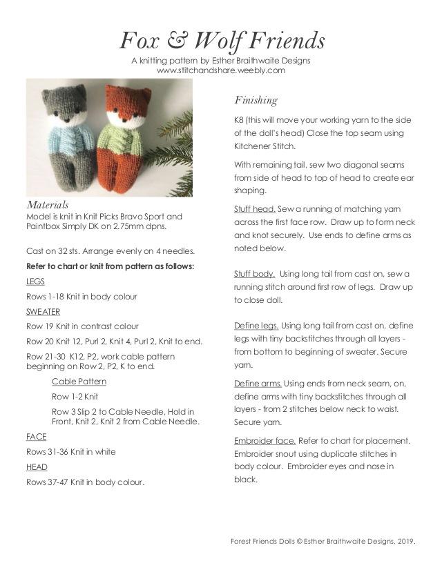 Photo of eine Strick- und Häkel-Community #knitteddolls Ravelry: Kauf im Laden: Esther …