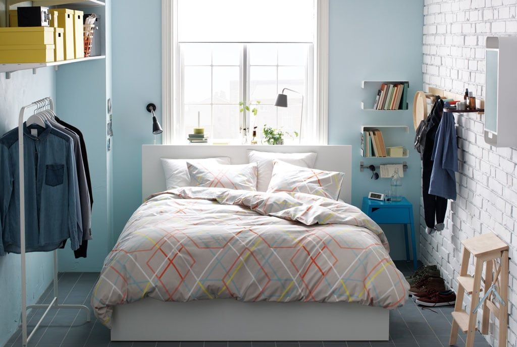 Magnificent Ikea Small Bedroom Ideas Amazing Ikea Small Bedroom Ideas 70 With Additional Dining Room F Small Bedroom Small Room Bedroom Small Bedroom Storage