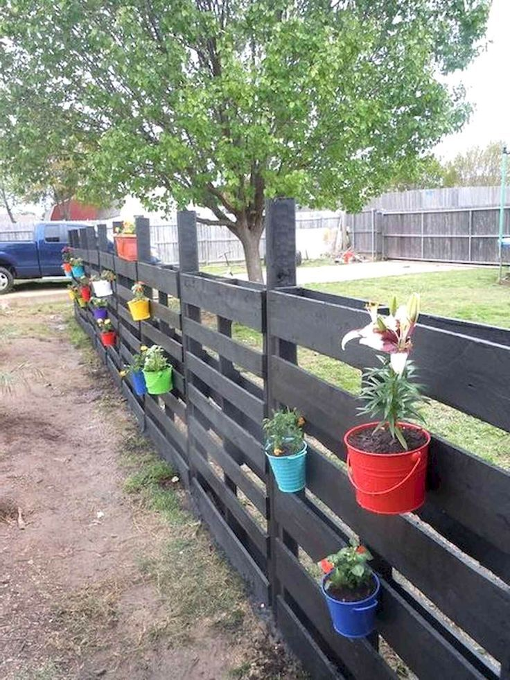 55 Most Inspiring DIY Projects Pallet Fence Design Ideas 55 Most Inspiring DIY Projects Pallet Fence Design Ideas