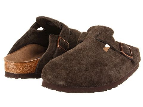 96e531b3dca4 140 Birkenstock Boston Soft Footbed (Unisex) Black Suede - Zappos.com Free  Shipping