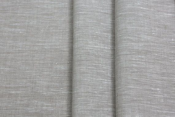 Extra Wide 100 Linen Fabric 195 Gsm Medium Weight Light Grey Color Cloth Eco Friendly By The Yard Perfect For Sheet Cover Curtains