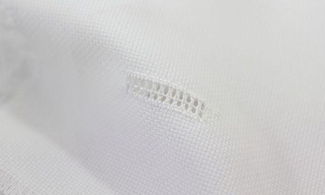 big B: 100 Stitches - Interlaced Hemstitch