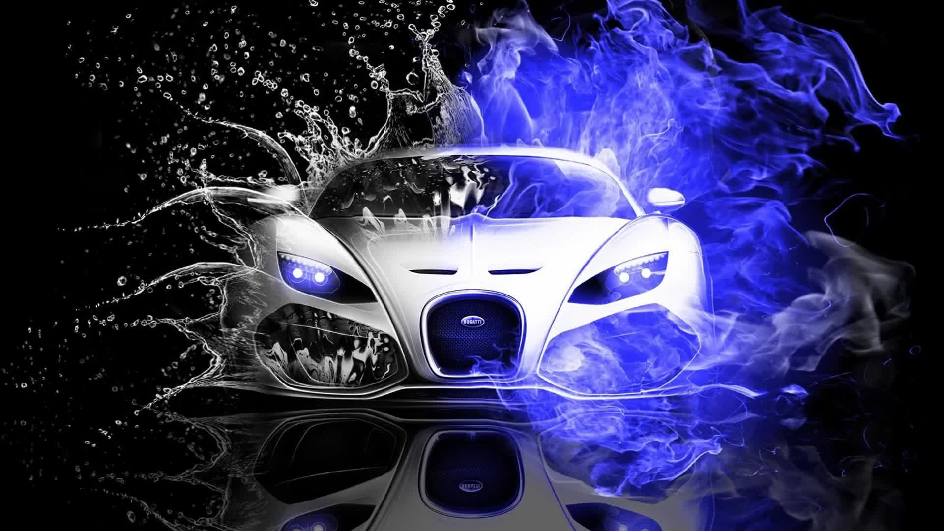 3d Sport Car Bugatti Abstract Shapes Live Wallpaper Bugatti Wallpapers Sports Cars Bugatti Car Wallpapers