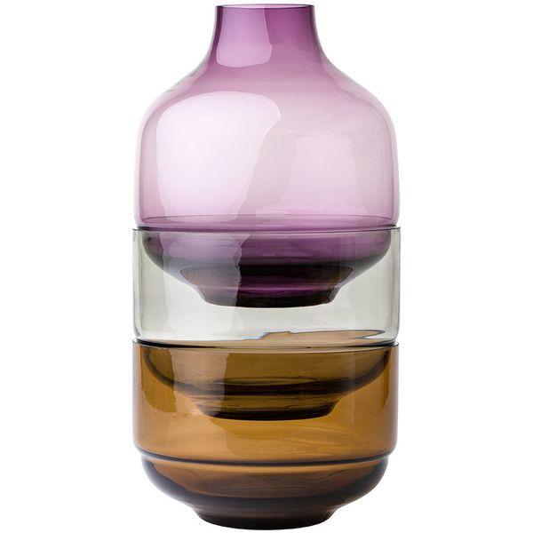 Leonardo Fusione 3 Piece Vase Lilac 86 Liked On Polyvore