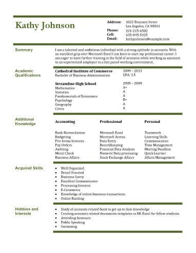 Free Resume Template by Hloom Alexis Pinterest Student - free student resume templates