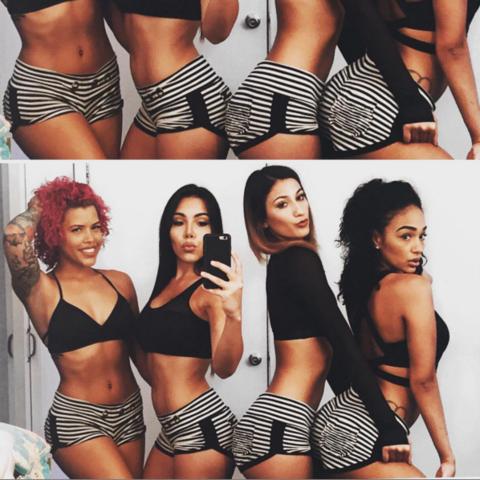 Latina Teen Booty Shorts
