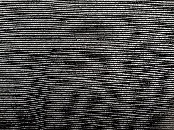 Black FAILLE SOLID RIBBED upholstery fabric home by fabriczoo4U