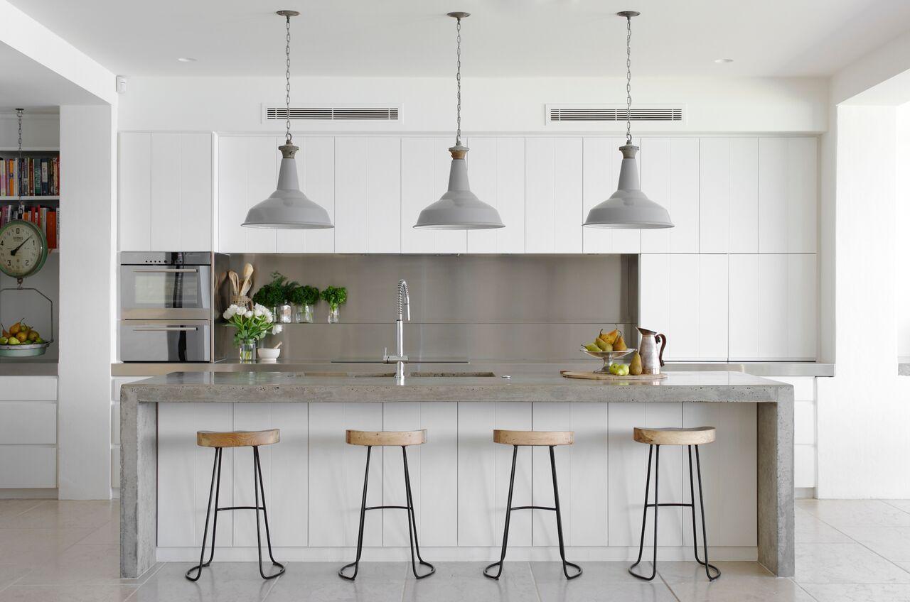 cocina con frente de acero - Frentes de cocina: cuáles son las ...