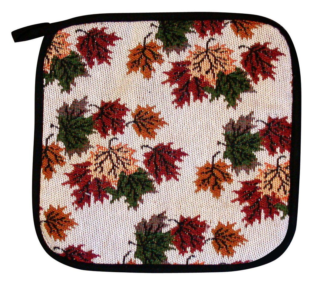 'Tapestry Leaves' Square Pot Holder